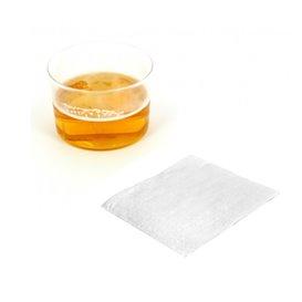 Guardanapos Papel Cocktail Branco 20x20cm (100 Uds)
