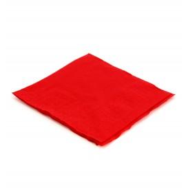 Guardanapos Papel Cocktail Vermelho 20x20cm (6.000 Uds)