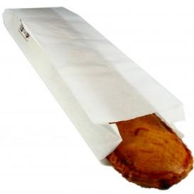 Saco de Papel Branco 9+5x32 cm (1000 Uds)
