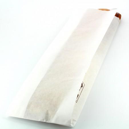 Saco de Papel Branco 9+5x32 cm (1000 Unidades)