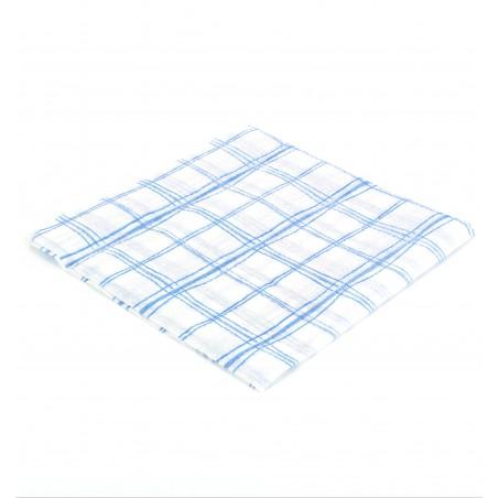 Guardanapos Quadrados Azul 33x33 1 Folha (3.840 Uds)