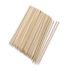 Palito Bambú Redondo Espetada 100mm (30000 Uds)